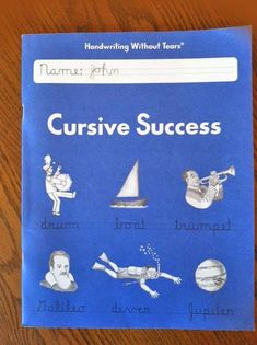 """Handwriting without Tears: Cursive Success """"Handwriting is something I feel is still very important, even in this age of computers and spell correct."""" Review by @Stephanie Harrington"""