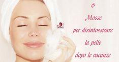 6 Mosse per #disintossicare la #pelle dopo le #vacanze.  Come fare esfoliante #faidate . Come avere una pelle bella, pulita e luminosa con la cura disintossicante, in 6 mosse detox per la pelle, un po' spenta e sciupata dopo le vacanze. Cure di #bellezza molto semplici da fare a casa in completo relax, dalla pulizia al vapore all'esfoliante fai da te, lo #scrub al riso e cocco, #naturale e profumato alle #mascheredibellezza con prodotti naturali.