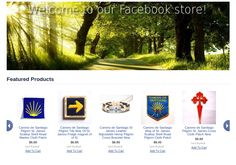 Our shop is now available on Facebook !