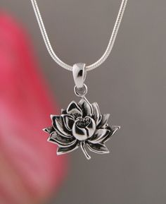 Sterling silver coexist harmony pendant lotus design pinterest lotus pendant aloadofball Images