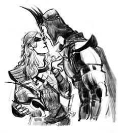 First Age Melkor and Sauron - back from some elves slaying >:3 -My Lord. Busy with sitting on your black throne as always? bad phobs doing fan service again