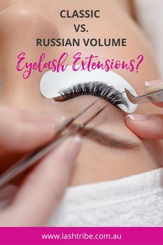 Classic eyelash extensions is typically 1 synthetic lash is applied per natural lash, making the lashes longer and a little thicker which adds a little more density. Click on the image to learn more! | Eyelash Extensions Business Tips | Lash Tribe Australia | Russian Volume #EyelashExtensionsStyles Applying False Eyelashes, Applying Eye Makeup, False Lashes, Long Lashes, Ardell Lashes, Natural Fake Eyelashes, Mink Eyelashes, Eyelash Extensions Aftercare, Eyelash Extension Kits