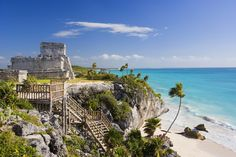 Tulum is one of the most popular tourist attractions in Mexico and definitely an archaeological site you just can't miss on your next vacation in Cancun, Playa del Carmen or Riviera Maya.You will be picked up from your Cancun or Riviera Maya hotel an Tulum Mexico, Riviera Maya, Tulum Mayan Ruins, Tulum Tours, Places To Travel, Places To See, Travel Destinations, Snorkel, Cancun
