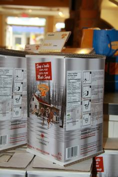 This four-liter container of maple syrup: | The 29 Most Canadian Things To Ever Canada In Canada