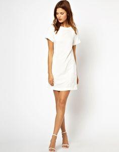 Image 4 ofWarehouse Jacquard Mixed Dress