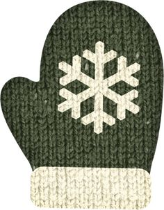 "Photo from album ""Winter Woodland"" on Yandex. Green Mittens, Christmas Clipart, Christmas Hats, Winter Fun, Christmas Projects, Views Album, Winter Wonderland, Woodland, Stockings"