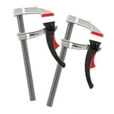 Bessey 8'' KliKlamp®️️ Light-Duty Lever Clamps, 2-Pack | Rockler Woodworking and Hardware. Apply just the right amount of force, from light-as-a-feather to up to 260 pounds!
