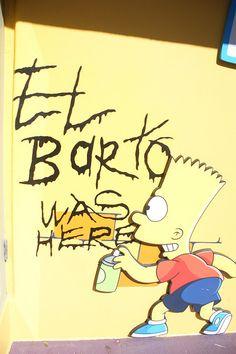 El Barto was here