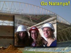 Upcoming  Netanya new stadium By: Tifa Arts.  Project under the guidance of the architect: Sarit Gitlis, 'Oro - Cube'