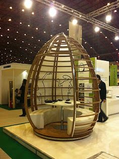 we love this funky meeting pod cool office space idea funky
