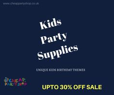 Unique Kids Birthday Party Themes. #kidspartysupplies #kidspartydecorations #childrenpartysupplies #london #uk