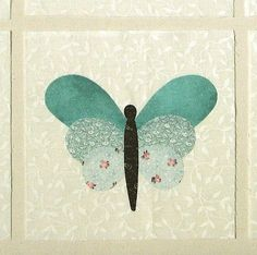 More applique quilt blocks … Quilted Butterfly Butterfly Quilt Pattern, Applique Quilt Patterns, Pattern Blocks, Felt Patterns, Quilting Tutorials, Quilting Projects, Quilting Designs, Quilted Wall Hangings, Square Quilt