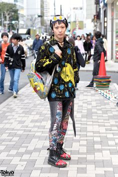Vanitytours: Maro. Handmade Pikachu Fashion in Harajuku