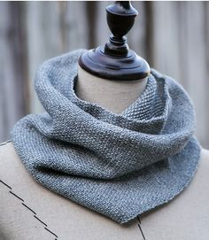 Free Until Dec. 31 2017 Jessica Jones Cowl Knitting Pattern - This basic linen stitch cowl was inspired by the scarf Jessica Jones wears in the Netflix series. Fingering weight yarn. 2 sizes. Designed by handmade by SMINÉ