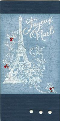 Ah, Christmas in Paris. Wish I could be there, except I would miss my family. Someday we'll do together, sis!