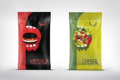 Packaging Smile of the Day - Monster Sauce (Concept) on Packaging of the World - Creative Package Design Gallery