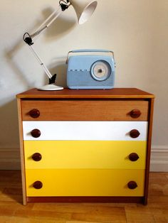 upcycled retro 1970s laminate sewing trolley - Google Search