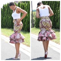 Prepare to Drool Over These Ankara Styles - Wedding Digest Naija African American Fashion, African Fashion Ankara, Latest African Fashion Dresses, African Fashion Designers, African Print Fashion, Africa Fashion, African Print Skirt, African Print Dresses, African Dress