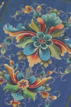 cards playing blue rosemal | Vaer Saa God