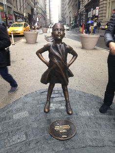 Wall Street's famous Charging Bull statue now has company. State Street Global Advisors, the world's third-largest asset manager, has installed a bronze statue named The Fearless Girl directly across from the Bull, and she stands for more than just artistic value.