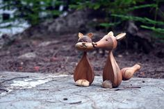 Wooden't you want these toys? Toy 2, 4 Kids, Garden Sculpture, Chic, Outdoor Decor, Design, Home Decor, Shabby Chic, Elegant
