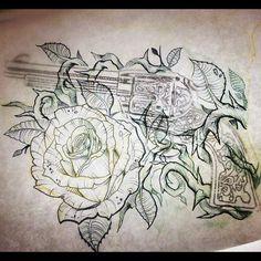 revolver tattoo - Google Search