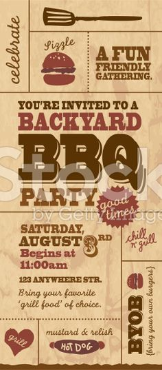 Backyard Bbq gratis - Annual Smoke and Steam Pinterest - bbq invitation template