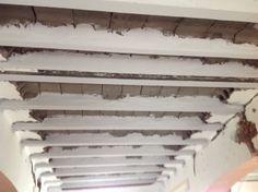 Albañilería  Aplicación del mortero fino, tapaporos impermeabilizante como acabado de protección en viguetas.