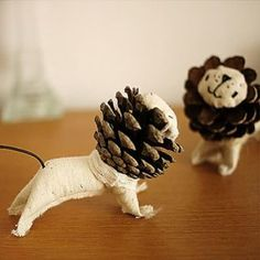 #funcraftskids #pinecone #lion #zoocrafts #pineconecrafts On www.funcraftskids.com/tag/insta Featuring @frenchblossom