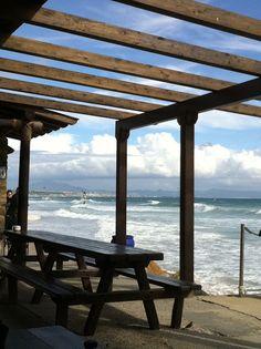 Playa de Los Lances Norte. El chozo (Tarifa)