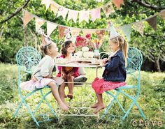 Tea Parties http://media-cache3.pinterest.com/upload/282812051569549856_4BkTDKLY_f.jpg lisahuffbrown cute children stuff