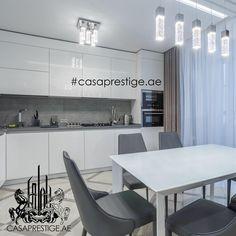 129 отметок «Нравится», 2 комментариев — Casa Prestige BUILD (@casaprestige_build) в Instagram: «Если вы сторонник простоты и элегантности, то этот стильный дизайн кухни для вас. В ней нет ничего…»