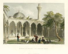 Holy Land, Mosque at Payass, the ancient Issus, (Turkey), 1837