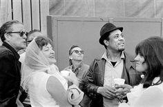 Charles Mingus with Ralph and Jean Gleason, 1964