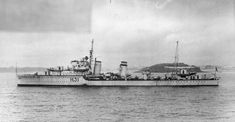 HMS GRIFFIN (H31) 1935, was a G-class destroyer, built for the Royal Navy in the mid-1930s. In WW II she took part in the Norwegian Campaign of April–May 1940 and the Battle of Dakar in Sept. before being transferred to the Mediterranean Fleet in Nov. Took part in the Battle of Cape Matapan in March 1941 and the evacuations of Greece and Crete in April–May 1941.was transferred to the Royal Canadian Navy on 1 March 1943.The ship, now renamed HMCS OTTAWA.
