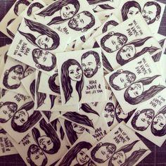 Custom Portrait Tattoo @lilimandrill www.lilimandrill.fr #etsy #EtsyGifts #EtsySuccess #etsywedding #wedding #mariage #bride #diy #couple #giftforcouple #handmade #gift #tattoo #temporarytattoo #favor #weddingfavor #etsymatch