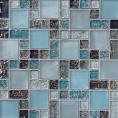 metal with crackle glass tile brown and copper | Save to Ideabook 101 Ask a Question Print