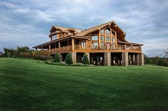 Handcrafted Log Home in NC