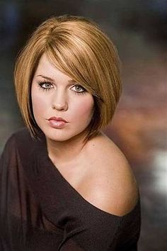 Hairstyles For Chubby Faces Interesting Top 25 Hairstyles For Fat Faces Of Women To Look Slim  Pinterest