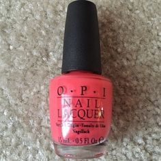 Nail polish OPI cream polish in Live Love Carnaval. New! Full size! Other