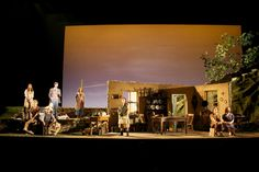 Dancing at lughnasa. Seattle Repertory Theatre. Scenic design by Etta Lilienthal. Lighting by L B Morse. 2010