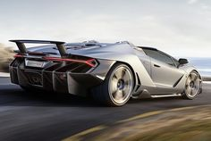 centenario roadster pays homage to founder at over 350 kmh
