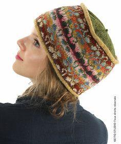 Fair Isle Knitting, Knitting Socks, Free Knitting, Knitted Hats, Loom Knitting Patterns, Knitting Designs, Knitting Stitches, Knitting Tutorials, Stitch Patterns