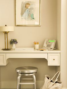 Simple & Chic Home Office Space by tim barber