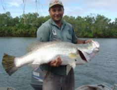 Barramundi fishing Northern Territory Australia