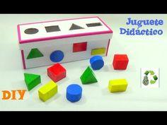 174. DIY JUGUETE DIDACTICO (RECICLAJE DE CARTÓN) - YouTube