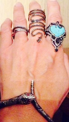 Rings#diamonds ,turquoise and ruby all from www?jessiewestern.com
