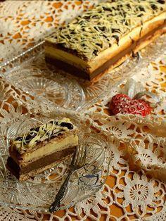 La Ancuţa: Prajitura cu ciocolata si vanilie