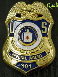 CIA Police Badges, Police Uniforms, Police Cars, Law Enforcement Badges, Federal Law Enforcement, Sheriff, 75th Ranger Regiment, Medan, Fire Badge
