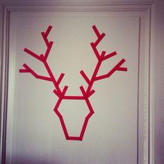 Deer washi tape